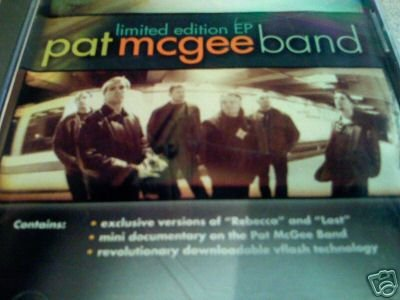 PAT MCGEE BAND CD [ECD] ~ FREE SHIPPING~ $8.99 - LIMITED EDITION EP (PROMO with DOCUMENTARY