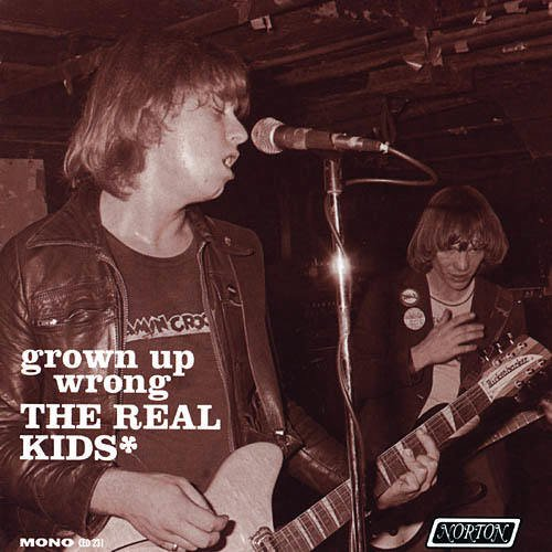 The Real Kids CD Grown Up Wrong  ~ FREE SHIPPING~ $9.99 NORTON 70s Boston Punk