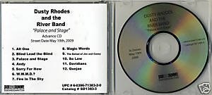 FREE SHIPPING~ $8.99 ~ Dusty Rhodes & The River Band - Palace & Stage Promo