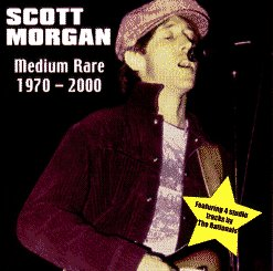 FREE SHIPPING ~ Scott Morgan CD Medium Rare Sonic's Rendezvous Band hellacopters