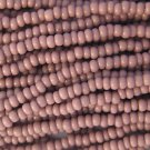 11/0 CZECH GLASS SEED BEADS OPAQUE LIGHT PURPLE 1 HANK