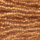 11/0 CZECH GLASS SEED BEADS COPPER LINED CRYSTAL 1 HANK