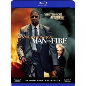 Man on Fire Blu Ray DVD