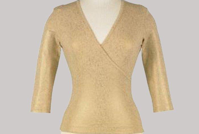 Soft Surroundings Sparkle Tee Top Shirt Plus Size Women 1X 18