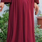 SHUKR Lace Long Skirt 39 in long Misses M 8 10