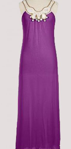Soft Surroundings Athena Dress 52 in long M 10 12
