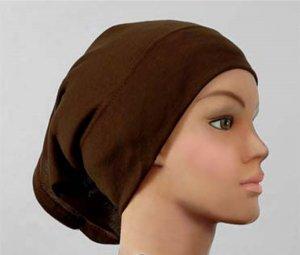 Hijab Underscarf Cap Cotton Tube BLACK