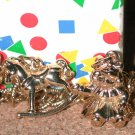 Costume Charm Bracelet small size Vintage Avon Christmas Wishes kids