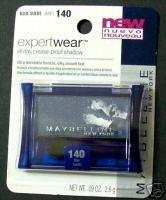 Maybelline EXPERTWEAR Eyeshadow - Blue Suede #140 - NEW