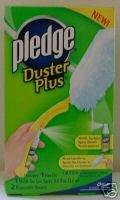 PLEDGE Duster Plus Starter Kit: Handle, Spray & Dusters