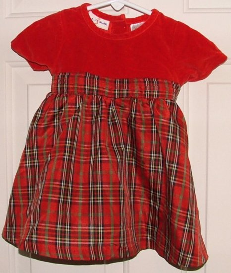 Adorable BT KIDS Red Special Occasion DRESS 12 Months
