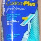 GILLETTE Razors: Custom Plus 10 for Women Sensitive Skin