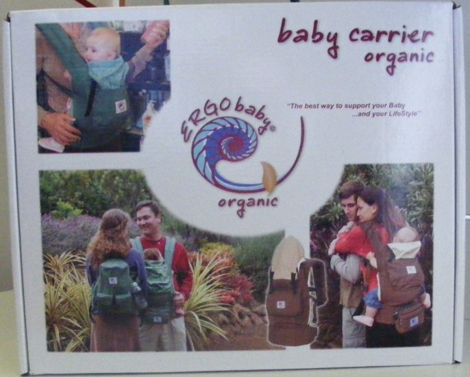 Ergo Carrier - Organic Forest Green Baby Carrier - FREE SHIPPING!