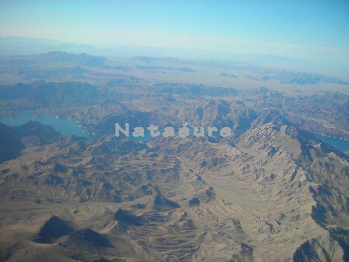 Aerial: Mountains 16x20