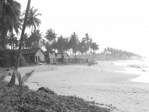Elmina Beach Shoreline II 8x10