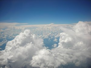 Aerial: Clouds 3 16x20