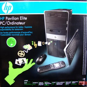 Hewlett Packard Pavilion Elite m9150f 2.4Ghz PC-NEW