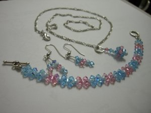 Cotton Candy Jewelry Set
