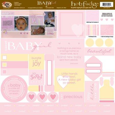 TLC HOT FUDGE Baby Girl 12 x12 Kit