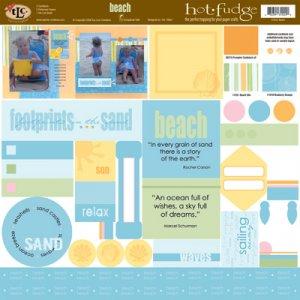 TLC HOT FUDGE Beach 12 x12 Kit
