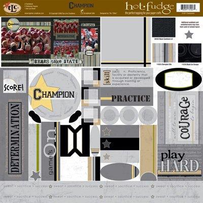 TLC HOT FUDGE Champion 12 x12 Kit