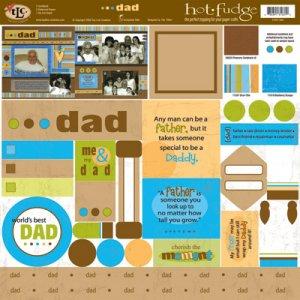 TLC HOT FUDGE Dad 12 x12 Kit