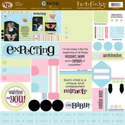 TLC HOT FUDGE Expecting 12 x12 Kit