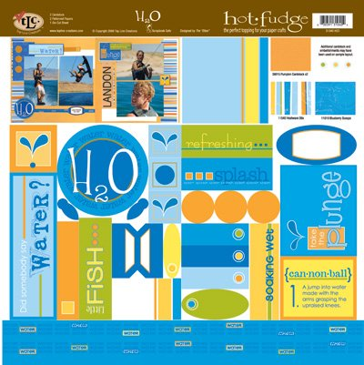 TLC HOT FUDGE H2O 12 x12 Kit