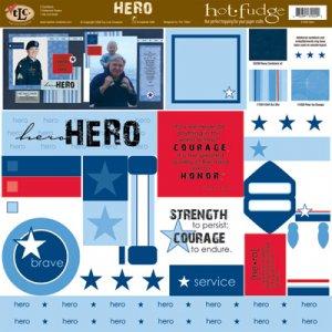TLC HOT FUDGE Hero 12 x12 Kit