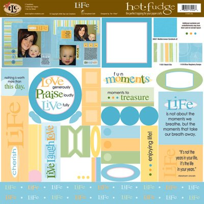 TLC HOT FUDGE Life 12 x12 Kit