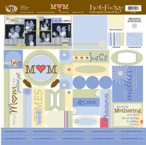 TLC HOT FUDGE Mom 12 x12 Kit