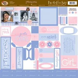 TLC HOT FUDGE Princess 12 x12 Kit