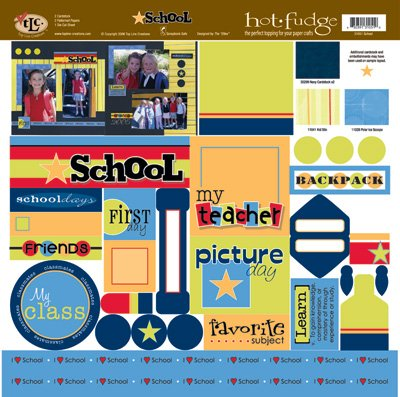 TLC HOT FUDGE School 12 x12 Kit