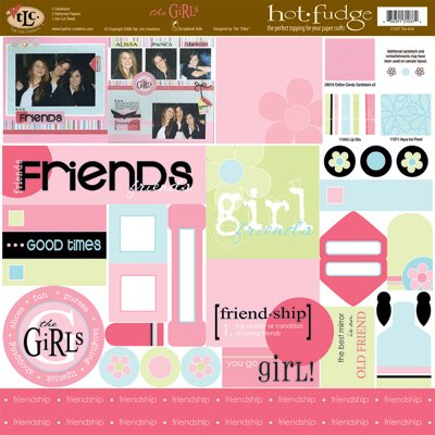 TLC HOT FUDGE The Girls 12 x12 Kit