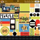TLC HOT FUDGE Thrill Ride 12 x12 Kit