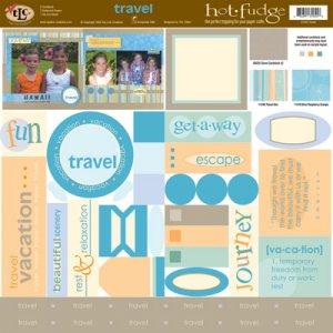 TLC HOT FUDGE Travel 12 x12 Kit