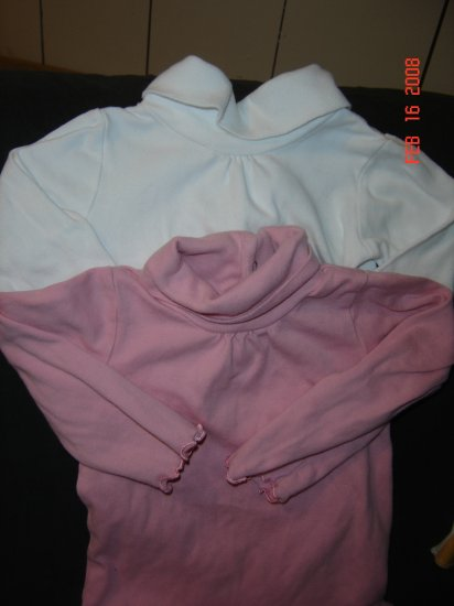 Two 24M Circo Long-Sleeved Body Suits- TWINS or NOT!