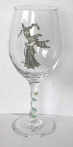 Pewter Wizard   Wine Glass Free Shipping