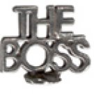 The Boss  Pewter Mini Figurines Lot of 5