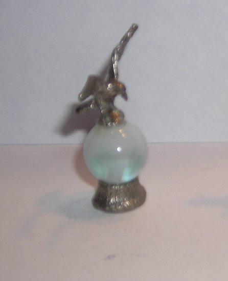 Eagle  Mini Pewter Figurines on  Marble