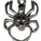 Spider  Pewter Charm 4 Total