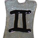 Gemini Pewter Charm One Each
