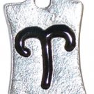 Aries Pewter Charm One Each