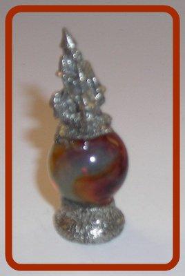 Castle Mini Pewter Figurines on  Marble