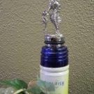 Seahorse Pewter Bottle Stopper