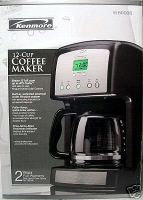 Kenmore 12-Cup Coffee Maker - USED