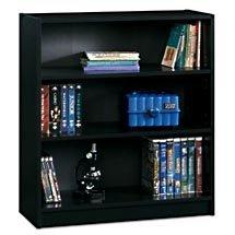 Three Shelf Bookcase - Black - Open Box