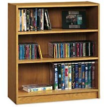 SOLD OUT Three Shelf Bookcase - Natural Oak - SOLD O UT