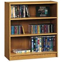 Three Shelf Bookcase - Natural Oak - Open Box