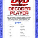 DVD Decoder Player For Windows XP & Vista